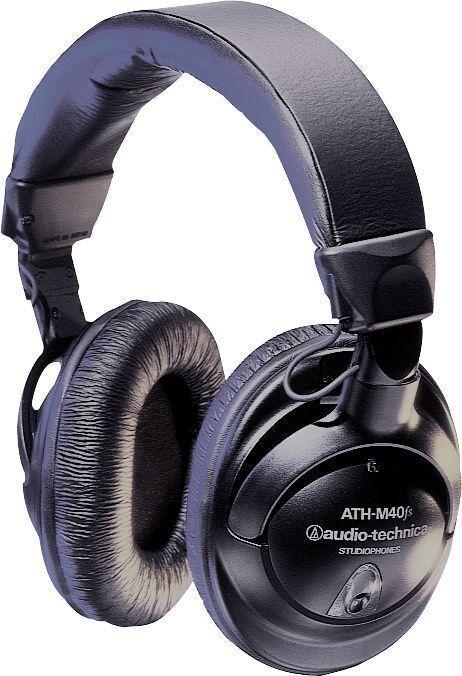Audio-Technica Precision Studiophone ATH-M40fs