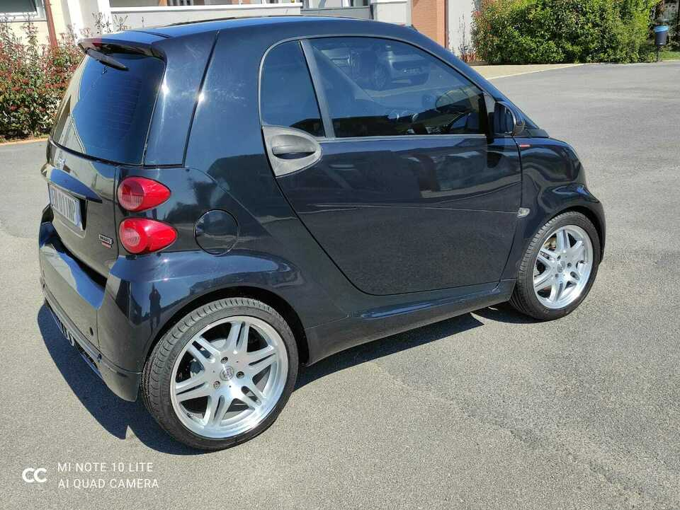SMART ForTwo 1000 52 kW MHD coupé pure Kit BRABUS 3
