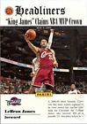 Serial Numbered LeBron James Beckett (BGS) Basketball Cards