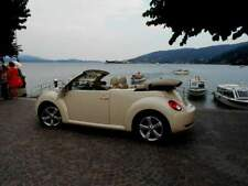 New beetle cabrio per matrimoni