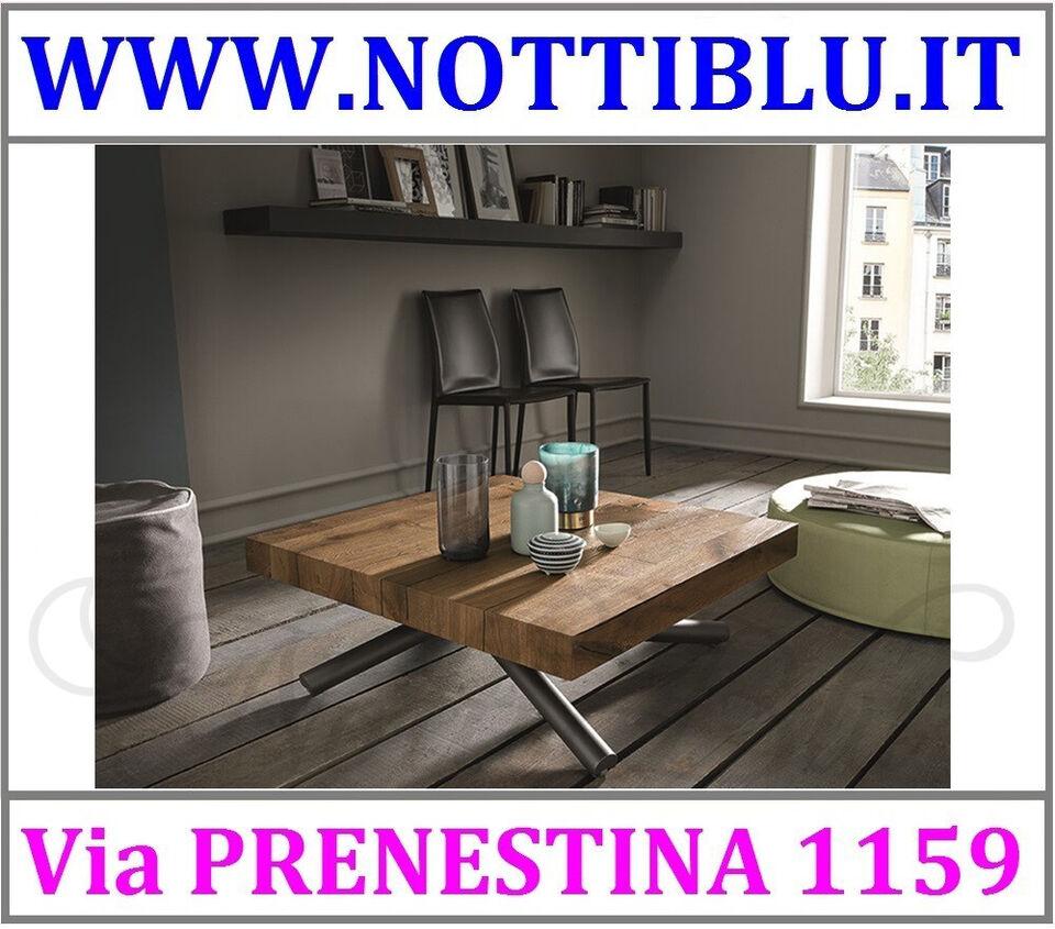 Tavolini Trasformabili Roma _ Tavolino Saliscendi LEVANTE / A12 3