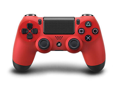 Sony DUALSHOCK 4 Magma Red Wireless Gamepad for Sony PlayStation 4
