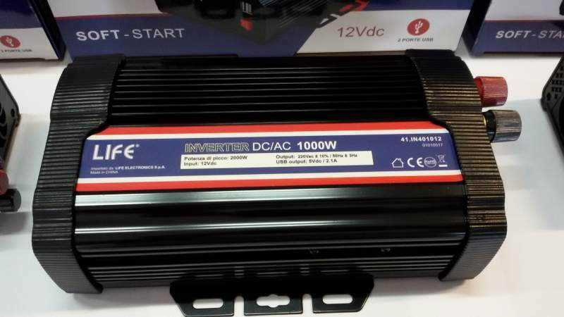 New inverter 12 volt soft star