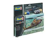 Revell rv64956 elicottero bell ah-1g cobra model set kit 1:72