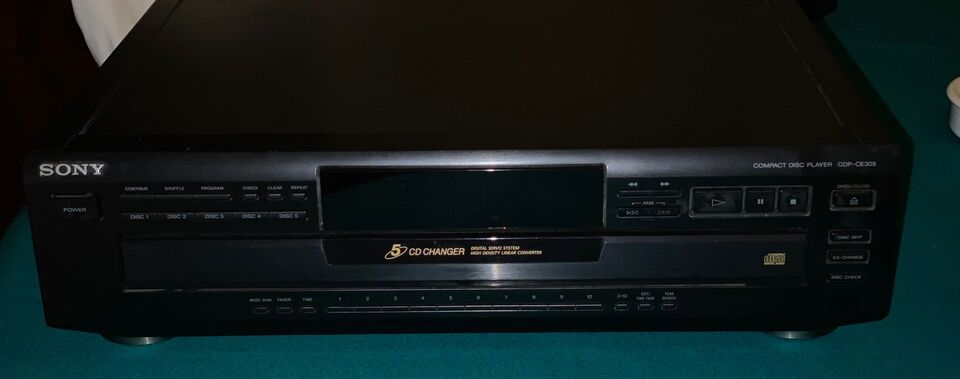 Sony CDP-CE 305 CD Player 5 CD Changer
