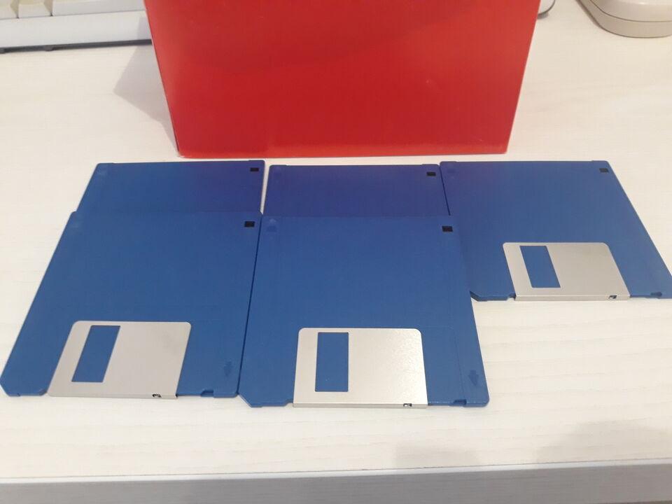 50 Floppy Disk Nuovi 3.5 DD 880 720 KB 1 MB Amiga Atari PC
