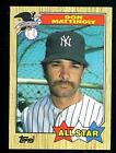 Autographed Don Mattingly Ungraded Baseball Cards