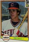 Donruss Cleveland Indians Lot Baseball Cards