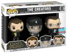 Funko Game of Thrones POP Serie TV Vinile 3 Figure I Creatori 9 cm