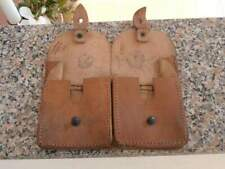 French army - mas 36 leather double pouch