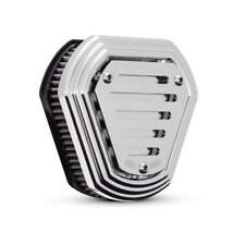 Filtro aria burly slotted hex cromato x harley sportster 91-up