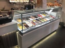All the equipment to open a new gelato shop