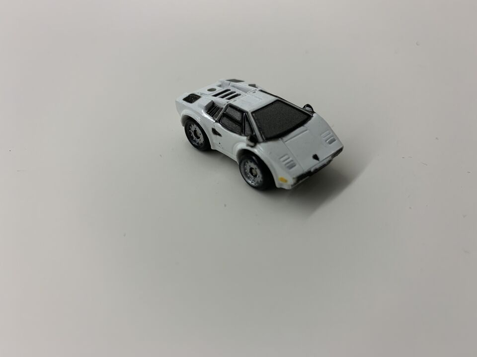 Lamborghini Countach Micro Machine Hasbro, white