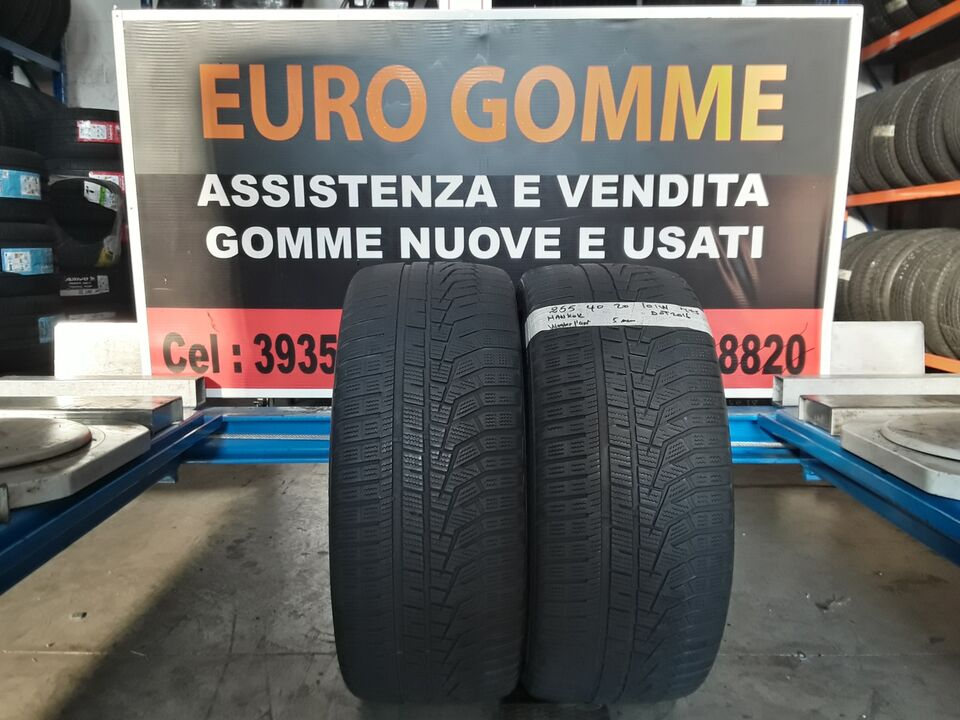 2 Gomme Usate 255 40 20 101W invernale/4 stagione 2
