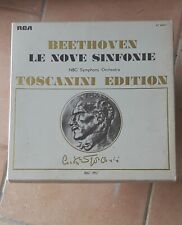 Le 9 sinfonie di Beethoven TOSCANINI EDITION