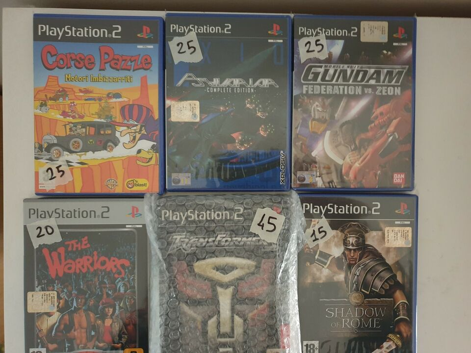 Playstation 2 ps2 giochi made in japan pal o NTSC COLLECTION