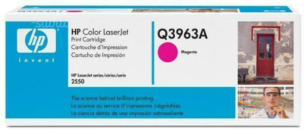 Hp color laserjet 2550 magenta q3963a