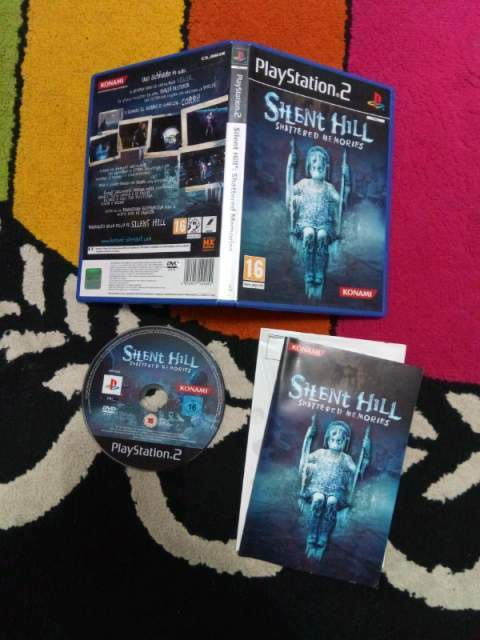 Silent hill shattered memories playstation 2 ps2 gioco completo raro