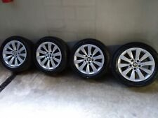 BMW Serie3/4 set ruote complete invernali 17