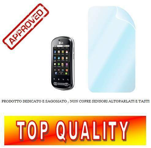 Screen protector pellicola display lg optimus life p350 2