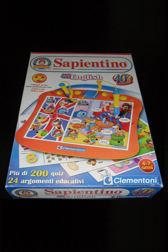 Sapientino English Clementoni