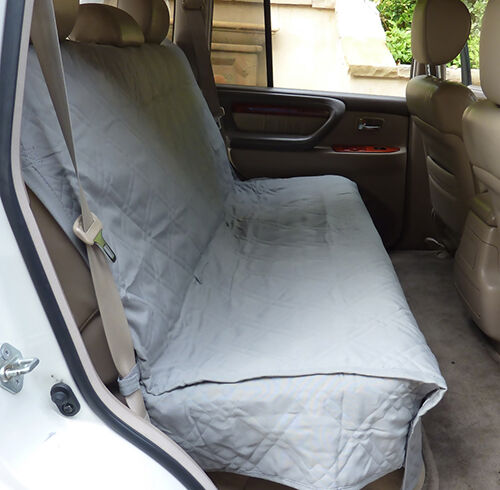 Rear car seat covers