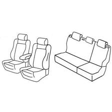 Set coprisedili Superior - Nero/Blu - Volkswagen Polo 5p (Lounge) (05/