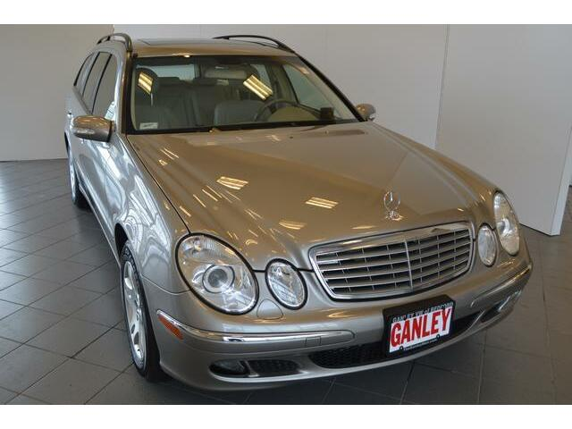 We finance 320 e class 4 matic wagon all wheel drive for Ganley mercedes benz akron oh