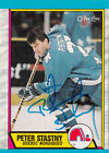 O-PEE-CHEE Peter Stastny Hockey Trading Cards