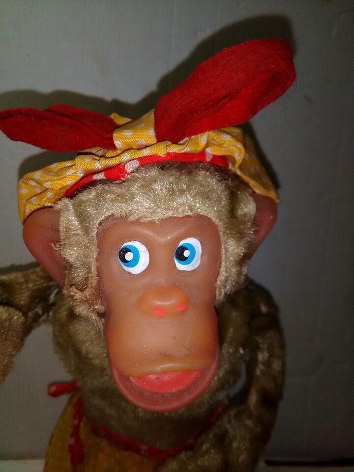 Scimmia cameriera giocattolo anni 50/60 2