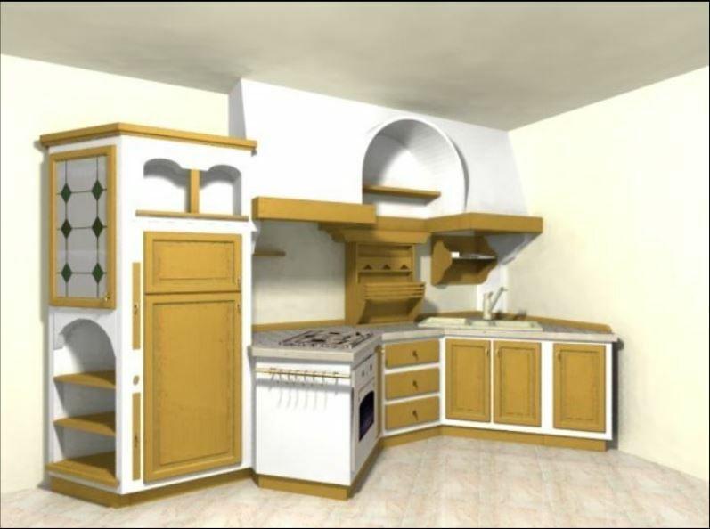 Cucina originale Zappalorto 46