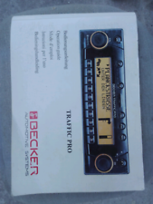 Autoradio Becker Traffic Pro Navy