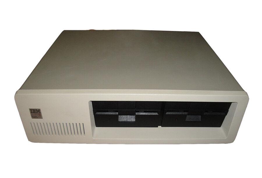 Vintage IBM Personal Computer Workstation