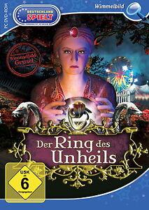 PC SPIEL DVD ROM / DER RING DES UNHEILS / NEU & OVP