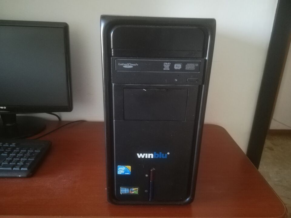 Computer Acer Winblu Quad-core Windows 10 Pc