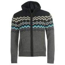 Soul Cal Full Zip Hooded Uomo Maglieria
