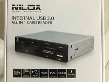 Lettore schede internal usb2.0 all in 1 card reader nilox