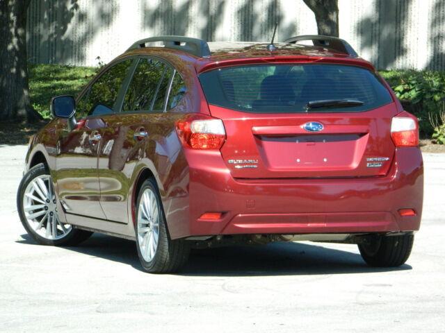 2012 Subaru Impreza AWD Bluetooth Heated Leather Seats Clear Rebuilt