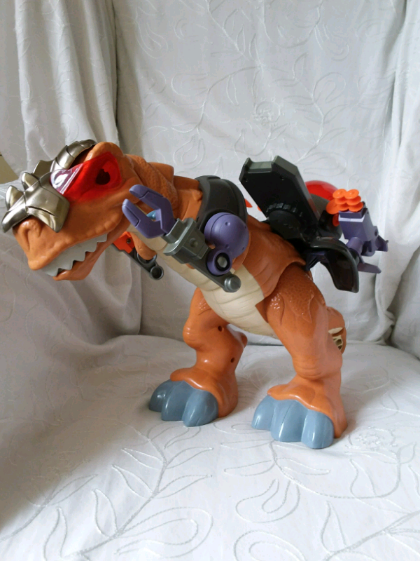 Mega t-rex Fisher Price Imaginext da 3 a 8 anni