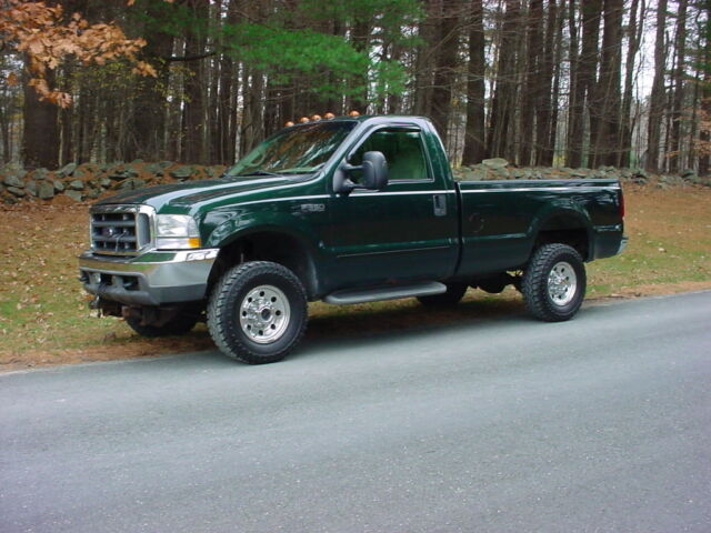 2002 ford f350 xlt pickup powerstroke diesel automatic 4 wheel drive w plow used ford f. Black Bedroom Furniture Sets. Home Design Ideas