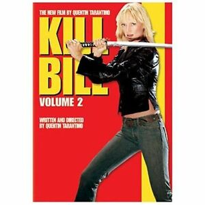 Kill Bill Vol. 2 (DVD, 2004, Anamorphic ...