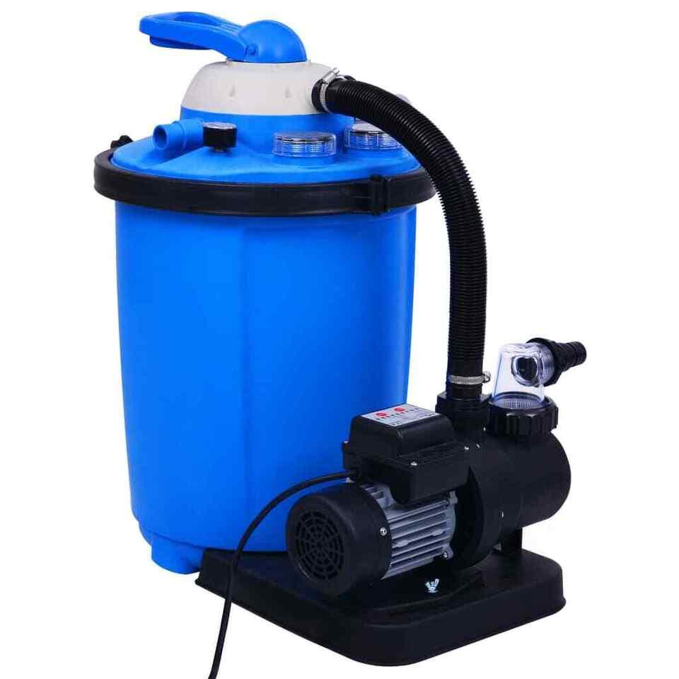 Pompa con Filtro a Sabbia con Timer 550 W 50 L 3