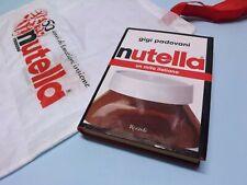 Lotto libro Nutella mito italiano Gigi Padovani + borsa shopper