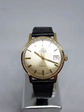 Omega automatic vintage watch 18k gold