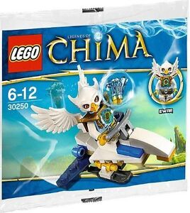 LEGO-Legends-of-Chima-034-Ewar-039-s-Acro-Fighter-034-30250-33-pcs-Minifigure