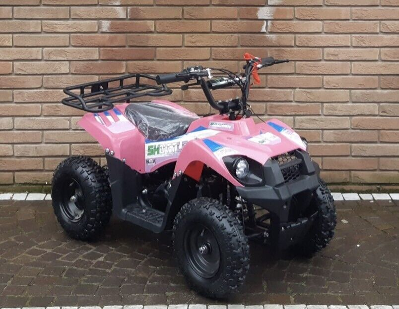 Miniquad shuttle 50cc pull start nuovo 3