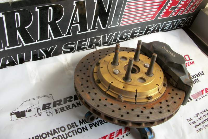 Wheel d45 spindle 313 terra sainz lancia delta abarth originali ep
