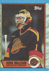 Kirk McLean Hockey Trading Cards