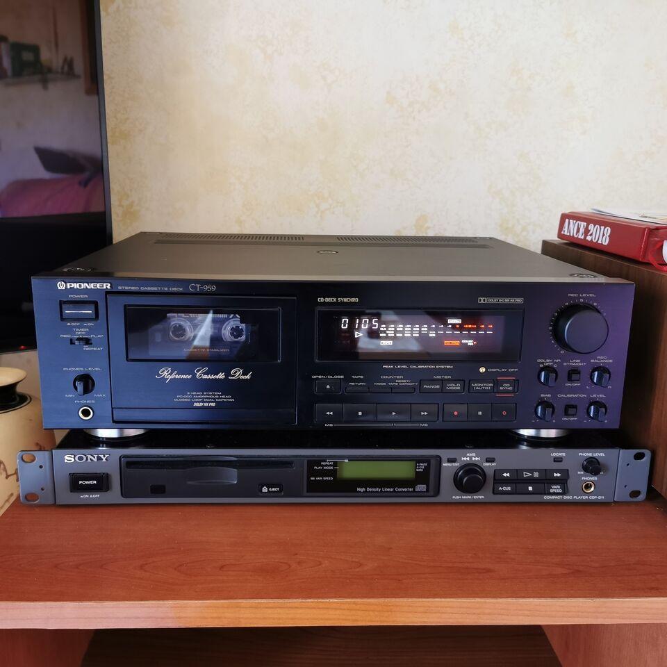 Pioneer CT 959 registratore a cassette 7