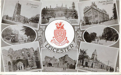 Leicester Postcards